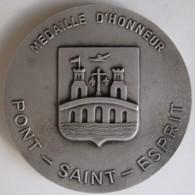 Médaille PONT SAINT ESPRIT. Porte D'Or De La Provence - France