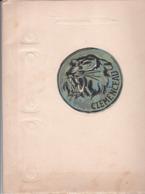 """""""CLEMENCEAU"""", Fascicule De Présentation Du Porte-avions Avec Caractéristiques Et Portrait De Clémenceau - Documents Historiques"""