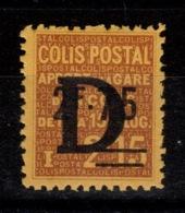 Colis Postaux - YV 133 N* - Ungebraucht