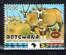 BOTSWANA/Neufs **/MNH**/2001 - Faunes Du Kgalagadi/Oryx - Botswana (1966-...)