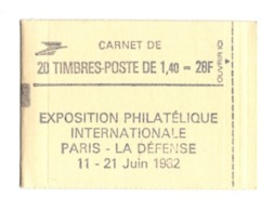 France Carnet 2186 C1 Fermé - Usados Corriente