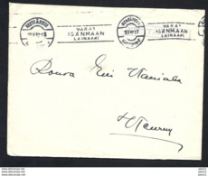 Finnland, Kenttäposti, Beleg Von 1942, Stempel Kenttäposti - Finland