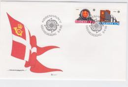 Denmark FDC 1990 Europa CEPT (G105-49) - 1990