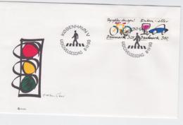 Denmark FDC 1990 Traffic And Safety (G105-49) - Sonstige (Land)