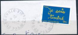 """France - Série """"Sourires"""" Par Ben YT A609 Obl. Cachet Rond Manuel Sur Fragment - France"""