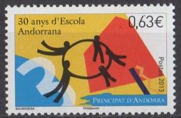 ANDORRE - 30e Anniversaire De L'école Andoranne - French Andorra