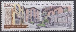 ANDORRE - Andorre-la-Vieille: Place De La Consorcia - French Andorra