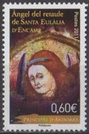 ANDORRE - Ange Du Retable De Sainte Eulalie D'Encamp - French Andorra