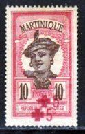 Martinique 1915 Yvert 82 (*) TB Neuf Sans Gomme Variete - Nuevos