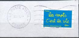"""France - Série """"Sourires"""" Par Ben YT A611 Obl. Ondulations Et Dateur Rond Sur Fragment - France"""