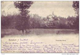BOITSFORT = Propriété Morel (Nels Bxl S.11 N° 270) 1908 - Watermaal-Bosvoorde - Watermael-Boitsfort