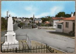 79 / SAINT-MAXIRE - Monument Aux Morts, Poste Et Vue Vers L'église (années 50-60) St - Francia