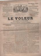 LE VOLEUR 30 07 1844 - NEW-YORK - CHATEAU DE CIREY HAUTE MARNE - GABON PRINCE DE-BO-HE - ACADEMICIEN CHAPELAIN - OXFORD - Kranten
