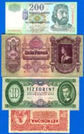Hongrie  9  Billets - Ungheria