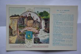 Departement De La Creuse-Gueret-offert Par Pastilles Valda - Guéret