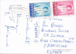34569. Postal TEHERAN (Iran) 1966. Stamp Nurse, Enfermera - Irán