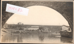Nanjing/ Nanking/ Jingling, Original Photo Bridge And View Of Port, Historical Document, COLLECTORS!!!!! - China