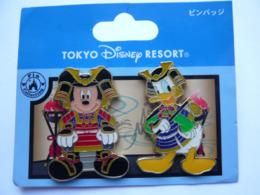 2 Big Pin S DISNEY TOKYO 4 X 3 Cm Tbq - Disney