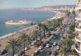 """L120C_46 - Nice - OF325 La Promenade Des Anglais Et Le Nouveau Bateau De Croisière """"Le Gallus"""" - Panoramic Views"""
