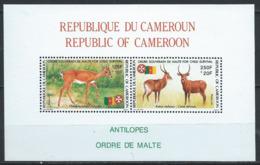 Cameroun YT Bloc 27 XX/MNH Animal Wildlife - Cameroon (1960-...)