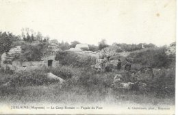53 Jublains Le Camp Romain Animée - Sonstige Gemeinden