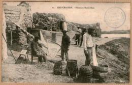 50 / ILES CHAUSEY - Pêcheurs Blainvillais (tampon 1911) Granville - Non Classés