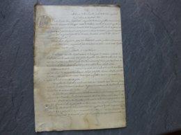 86 LOUDUN 1868 Construction Palais Justice, Mairie Et Prison, Procès Jourdain (Chouppes) Vs Limoux Ref874 ; PAP09 - Historical Documents