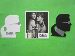 LAGERFELD KARL - 3 Cartes Parfumées - Perfume Cards
