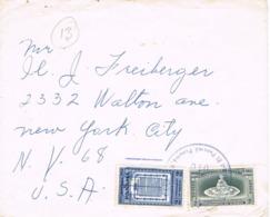 34573. Carta Aerea HOTEL EL PANAMA (Panama) 1953 To USA - Panamá