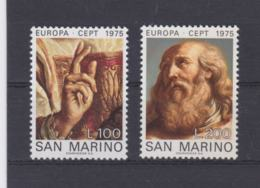 San Marino 1975 Europa CEPT - 2 Stamps MNH/** (H59) - Europa-CEPT