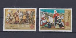 Turkey 1975 Europa CEPT 2 Stamps  MNH/** (H59) - Europa-CEPT