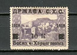 Yugoslavia (Bosnia Herzegovina) 1918 Mi 16 MH - Bosnia Herzegovina