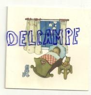 Mignonnette Double. Véronique De Wit Tromme . Naissance 1962 Awans-Bierset. Berceau, Nounours, Lapin - Nascite