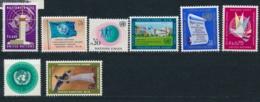 Verenigde Naties/United Nations/Nation Unis Geneve 1969 Mi: 1-8 Yt:  (PF/MNH/Neuf Sans Ch/**)(4874) - Genève - Kantoor Van De Verenigde Naties