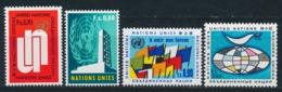 Verenigde Naties/United Nations/Nation Unis Geneve 1970 Mi: 11-14 Yt:  (PF/MNH/Neuf Sans Ch/**)(4875) - Genève - Kantoor Van De Verenigde Naties