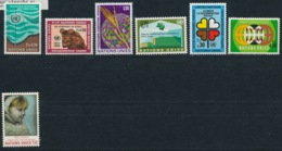 Verenigde Naties/United Nations/Nation Unis Geneve 1971 Mi: 15-21 Yt:  (PF/MNH/Neuf Sans Ch/**)(4876) - Genève - Kantoor Van De Verenigde Naties