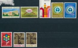 Verenigde Naties/United Nations/Nation Unis Geneve 1972 Mi: 22-29 Yt:  (PF/MNH/Neuf Sans Ch/**)(4877) - Genève - Kantoor Van De Verenigde Naties