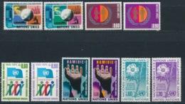 Verenigde Naties/United Nations/Nation Unis Geneve 1975 Mi: 46-55 Yt:  (PF/MNH/Neuf Sans Ch/**)(4879) - Genève - Kantoor Van De Verenigde Naties