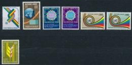 Verenigde Naties/United Nations/Nation Unis Geneve 1976 Mi: 56-62 Yt:  (PF/MNH/Neuf Sans Ch/**)(4880) - Genève - Kantoor Van De Verenigde Naties