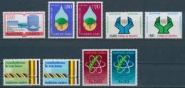 Verenigde Naties/United Nations/Nation Unis Geneve 1977 Mi: 63-71 Yt:  (PF/MNH/Neuf Sans Ch/**)(4881) - Genève - Kantoor Van De Verenigde Naties