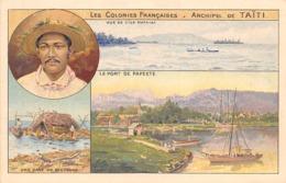 Océanie.  Polynésie Française    .  Archipel De Tahiti          (voir Scan) - Tahiti
