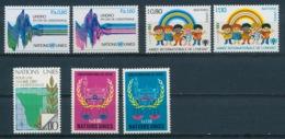 Verenigde Naties/United Nations/Nation Unis Geneve 1979 Mi: 81-87 Yt:  (PF/MNH/Neuf Sans Ch/**)(4883) - Genève - Kantoor Van De Verenigde Naties
