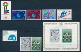 Verenigde Naties/United Nations/Nation Unis Geneve 1980 Mi: 88-95 + Block 2 Yt:  (PF/MNH/Neuf Sans Ch/**)(4886) - Ongebruikt