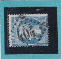 N° 22  GC 404   BUREAU DE BEAUVAIS - REF ACDIV + VARIETE TACHE DERRIERE OCCIPUT - 1862 Napoleon III