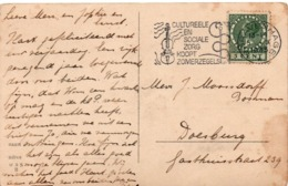 Gravenhage 1935 - Cultureele En Sociale Zorg Koopt - Violon Musik Musique Et Serpent Snake - Caducée - Covers & Documents