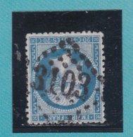 N° 22  GC 3103   BUREAU DE REIMS - REF ACDIV - 1862 Napoleon III
