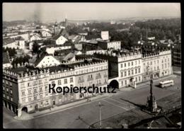 ÄLTERE POSTKARTE RACIBORZ WIDOK OGOLNY Bus Polen Polska 1973 Ansichtskarte AK Cpa Postcard - Polen