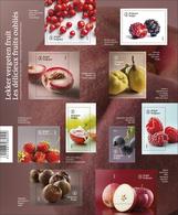 Blok 230** Lekker Vergeten Fruit 4539/48** / Les Délicieux Fruits Oubliés - Libretti 1962-....