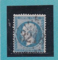 N° 22  GC 3218   BUREAU DE ROUBAIX - REF ACDIV - 1862 Napoleon III