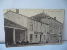 VOID 55 MEUSE POSTE HALL CPA 1928 - Frankreich